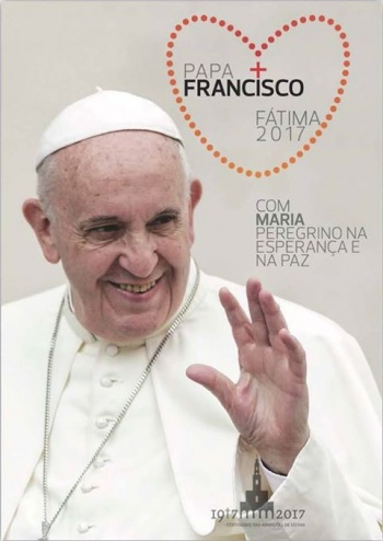 cartaz_visita_do_papa_francisco_a_fatima